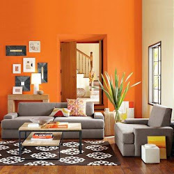 paint room living designs colors drawing grey sofa orange painting colour rooms wall gray livingroom brown painted interior plans colorful