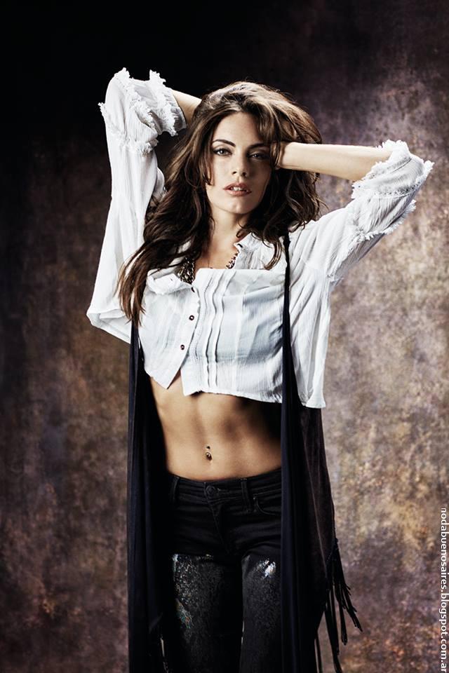 Moda otoño invierno 2016 ropa de mujer invierno 2016 tops, chalecos, jeans.