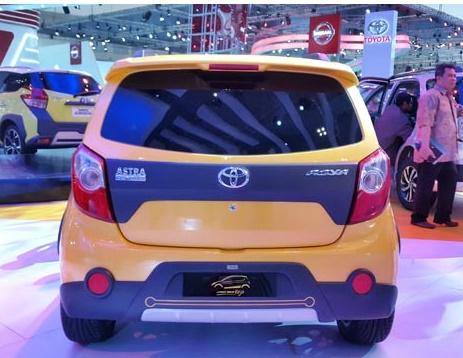 GIIAS 2015: Toyota Agya Kojo