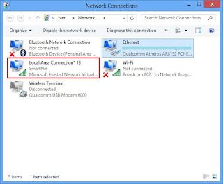 Membuat Hotspot Dari Laptop Windows 8 Tanpa Software