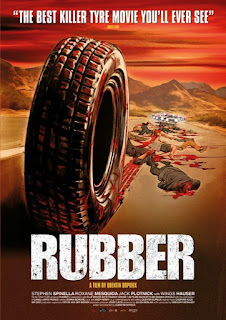Rubber, pelicula bizarra que fue mostrada en el Festival de Cine de Cannes de 2010