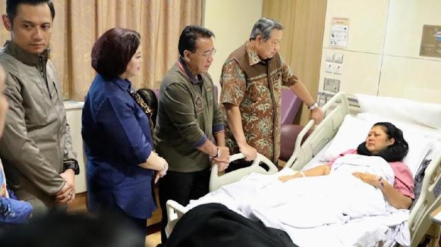 SBY: Ani Yudhoyono Sakit Kanker Darah
