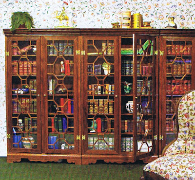 dollhouse miniature library