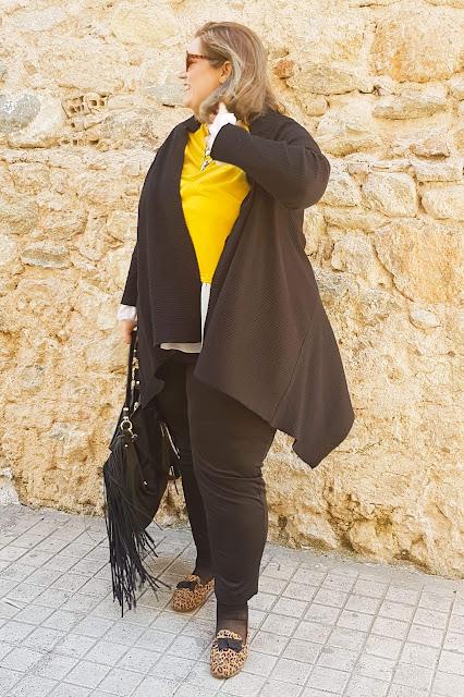 Plus size fashion: Ανοιξιάτικο look