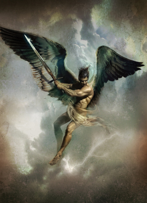 angel warrior sword wings - photo #9