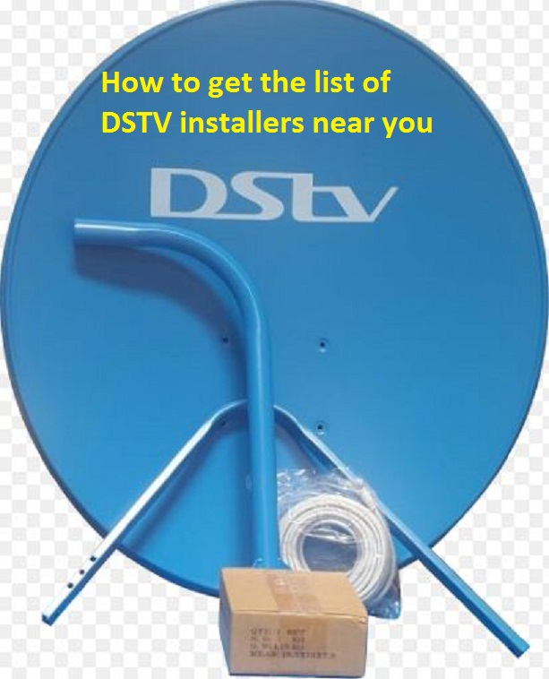 How to get the list of DSTV installers near you