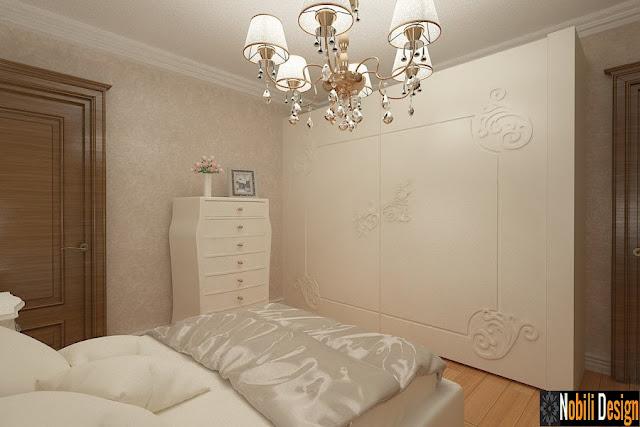 Design interior dormitor clasic Bucuresti - Amenajari interioare case clasice
