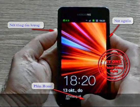 Dien thoai Samsung Galaxy bi khoa man hinh