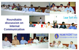 Roundtable discussion on internal communication