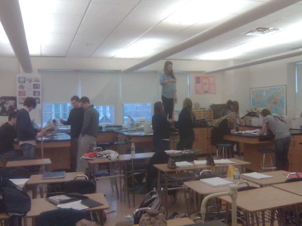 Bronxville Science Department Core Earth Science Crater Lab