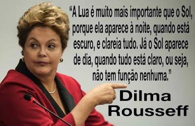 Frases de Tia Dilma Sapiens falando sobre seu impeachment