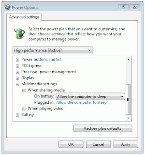 Mengatur multimedia setting