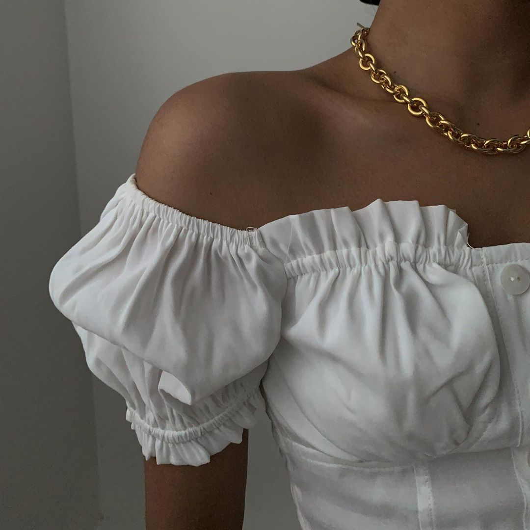 Summer Is Here! These Are The Off-The-Shoulder Blouses I'll Be Purchasing