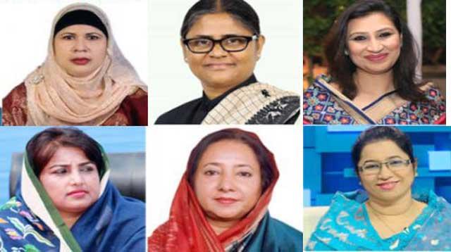 ৭ নারী নেত্রী মনোনয়ন সংগ্রহ করলেন জামালপুরের ৫টি আসনে
