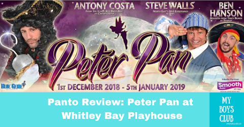 Panto Review: Peter Pan at Whitley Bay Playhouse (AD)