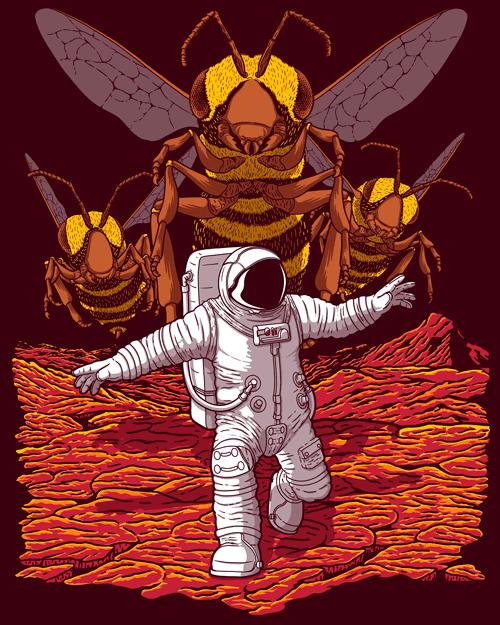 JCMaziu Killer Bees on Mars