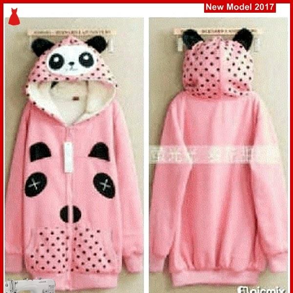 MSF0058 Model Jaket Panda Murah Pink Modis BMG