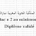الخطوط الملكية الجوية المغربية مباراة توظيف Bac+2 au minimum Diplôme validé