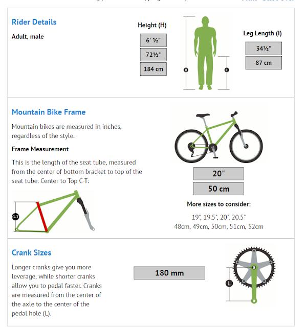 Как выбрать размер рамы велосипеда по росту