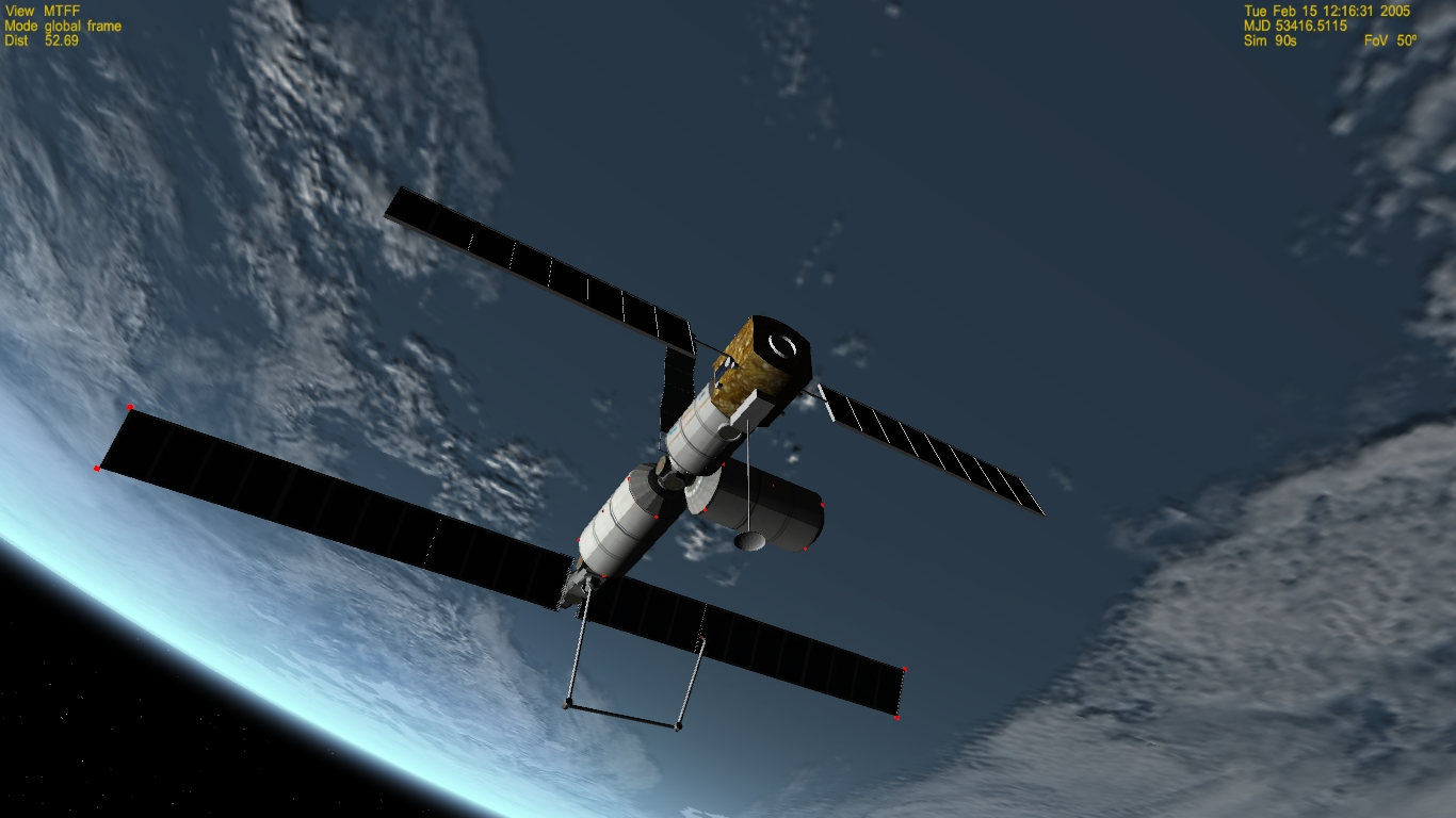 Esa Mtff Columbus Space Station Project Bae 1990 Proposal