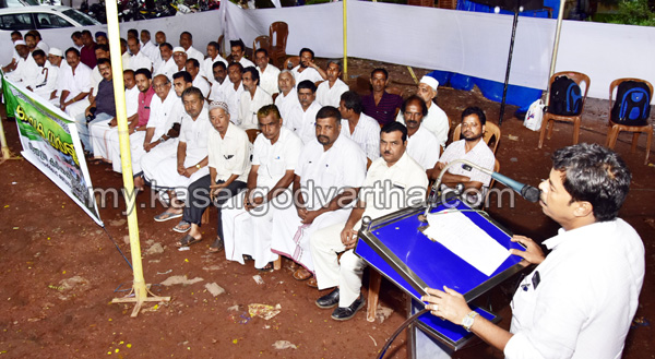 A Abdul Rahman, Kasaragod, Farmer, Dharna, A Abdul Rahman on Farmers Issue