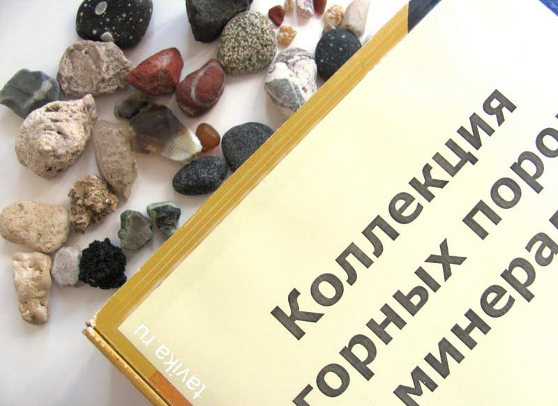 Коллекционирование камней для детей