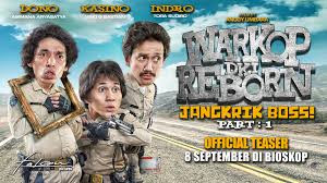 Download Warkop DKI Reborn: Jangkrik Boss! (2016) Full Movie BluRay