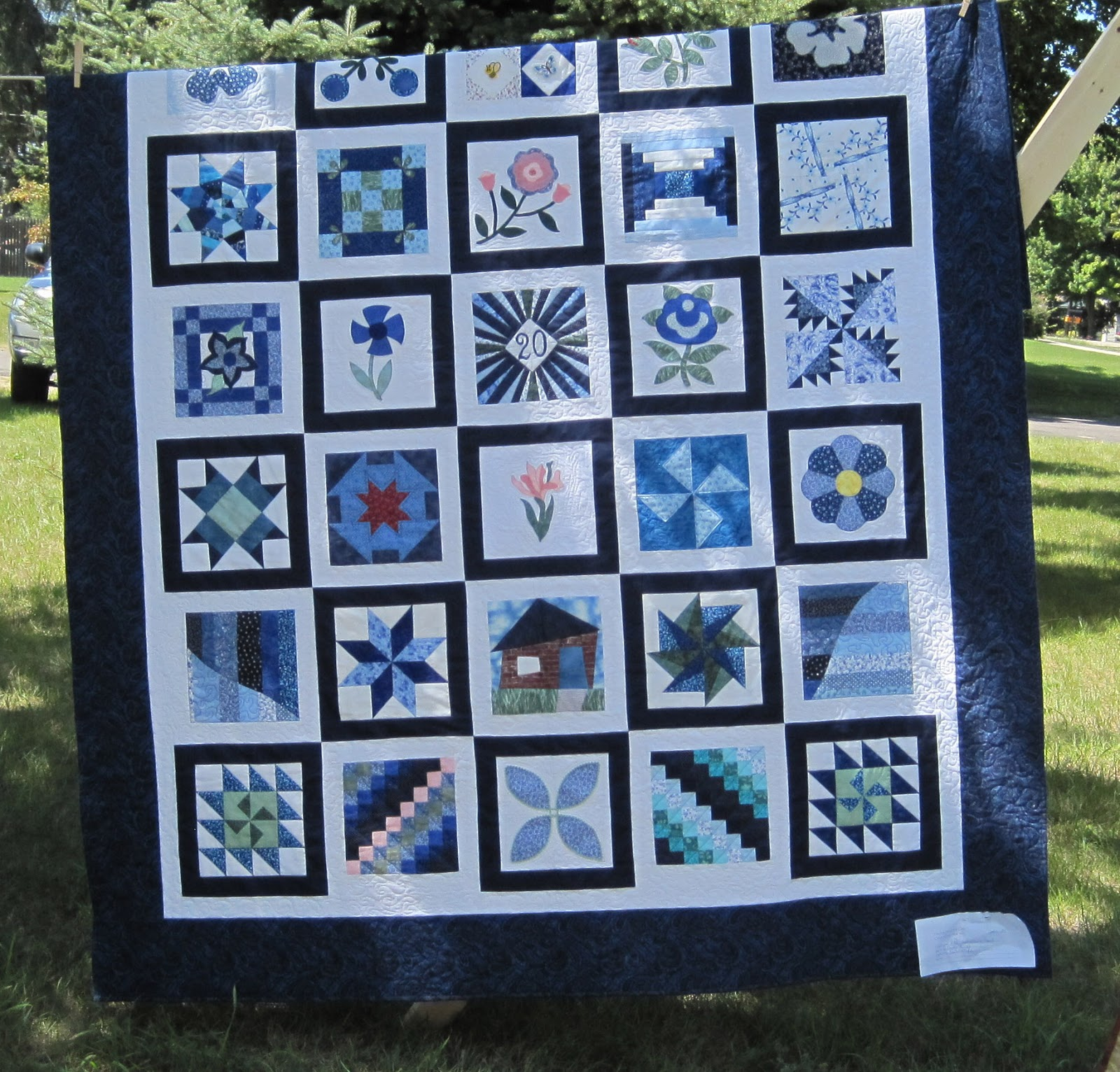 The Literate Quilter: Friendship Ring Quilt Guild Show : michigan quilts - Adamdwight.com