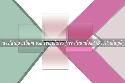 Wedding Album Psd Templates 12x18