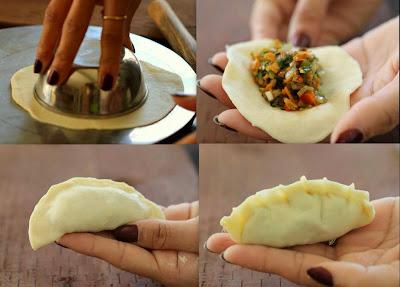 How to make Vegetable MoMo
