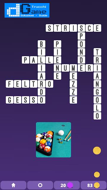 Soluzioni One Clue Crossword livello 3 schema 1 Cruciverba illustrato)  | Parole e foto