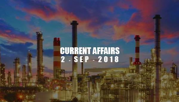 current affairs sep 2018
