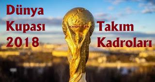 2018 dünya kupası, world cup 2018, dünya kupası grupları, dünya kupası takım kadroları 2018, 2018 dünya kupası takım kadroları, g grubu takım kadroları,ingiltere, belçika, panama, tunus