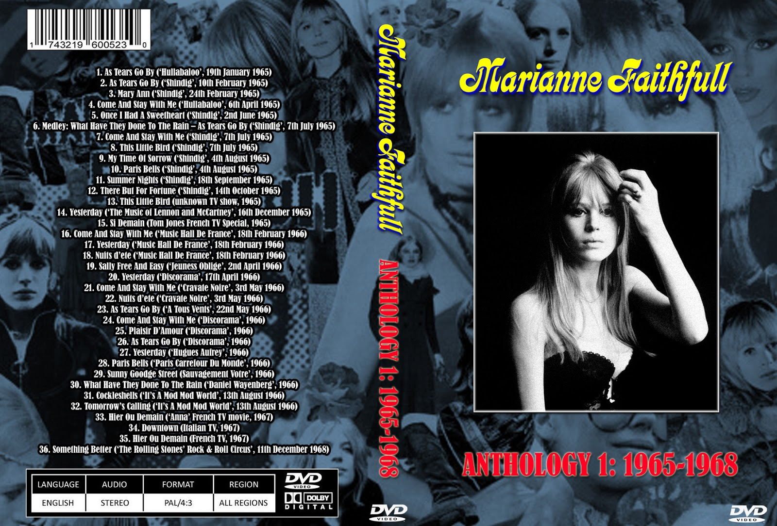 Music tv and video archives marianne faithfull on dvd marianne faithfull on dvd altavistaventures Image collections