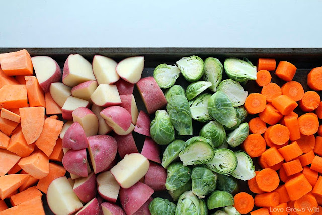 Roasted Fall Vegetables Recipe - an easy and delicious side dish idea!