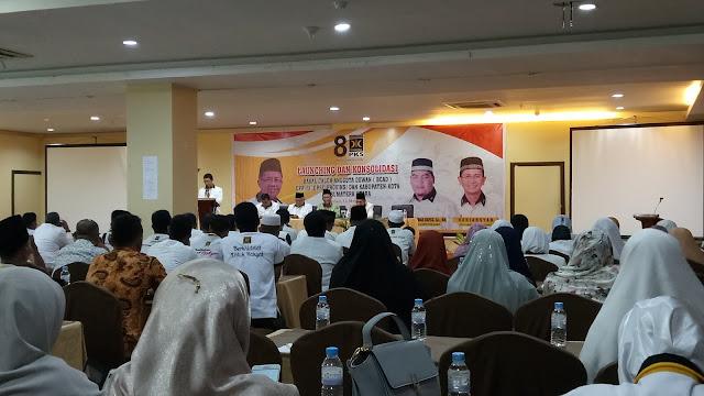 Launching Bakal Caleg, PKS Targetkan 12 Kursi DPRD Sumut dan 10 Kursi DPRD Medan