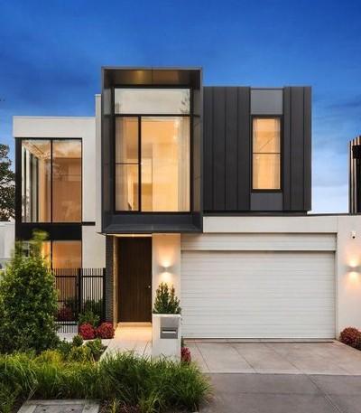 gambar model rumah minimalis 2 lantai sederhana