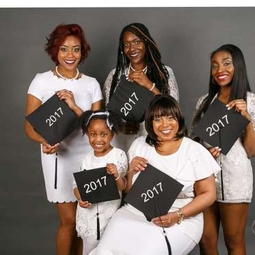 'Happy coincidence' as five members of one family graduate