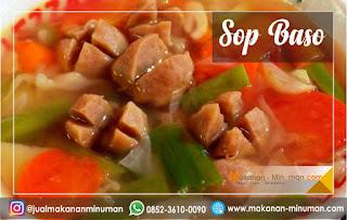 resep sop yang enak dan mudah dibuat, resep sop bakso