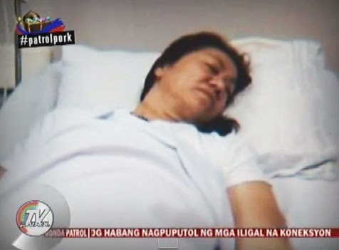 Video: Janet Napoles denies 'sex caused bleeding' rumor