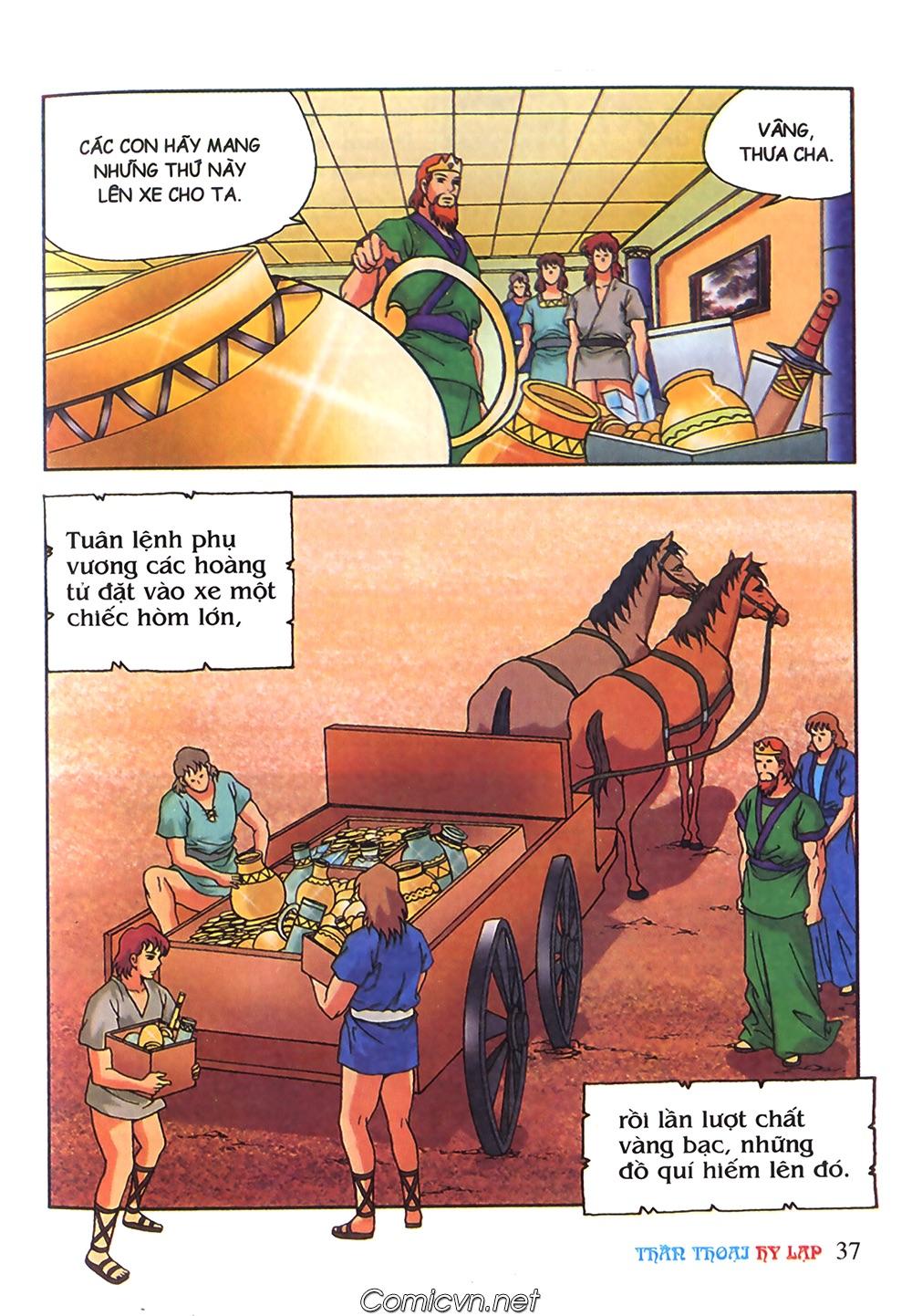 Thần Thoại Hy Lạp Màu - Chapter 63: Lão vương Pri am chuộc xác con - Pic 11