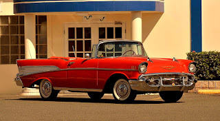 1957 Chevrolet Bel Air Convertible Front Right