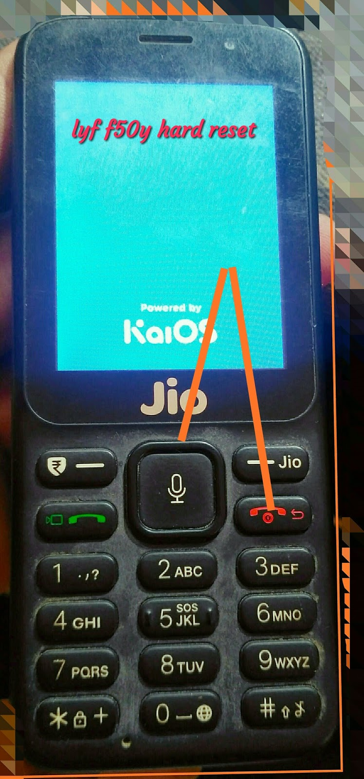 Lyf f50y hard reset key | Lavkush mobile com hargarh bajar mirzapur up