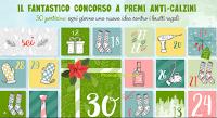 Logo Concorso ''Anti - calzini'': vinci gratis ogni giorno aprendo una casella