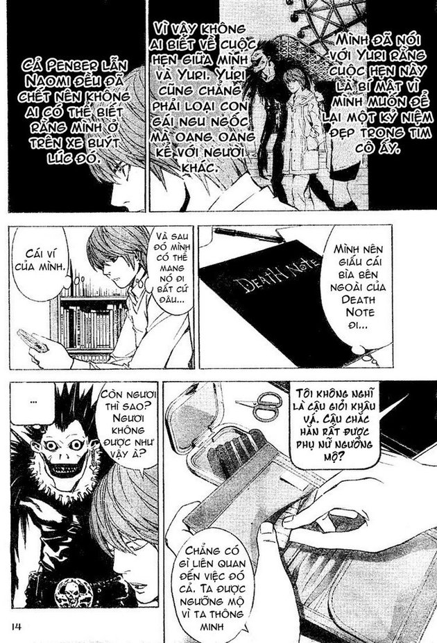 Death Note chapter 015 trang 14
