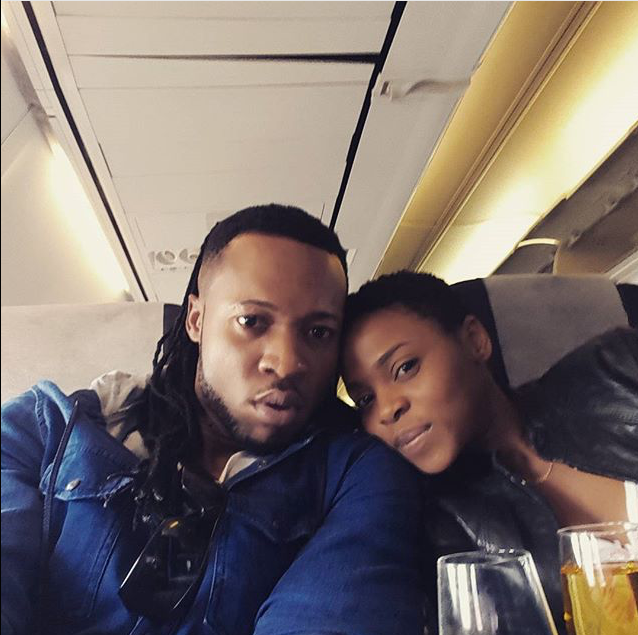 FLAVOUR AND CHIDINMMA IN SOUTH AFRICA MTV MAMA 2015