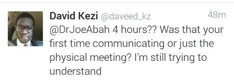DG Bureau of Public Reforms, Dr Joe Abah reveals he proposed to his wife 4 hours after they met