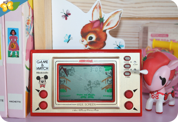 jeu électronique Game & Watch Mickey Mouse