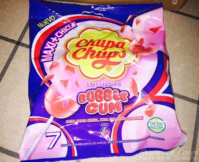 Chupa Chups Bubble Gum Cereza Caja Degustabox - Abril 2016