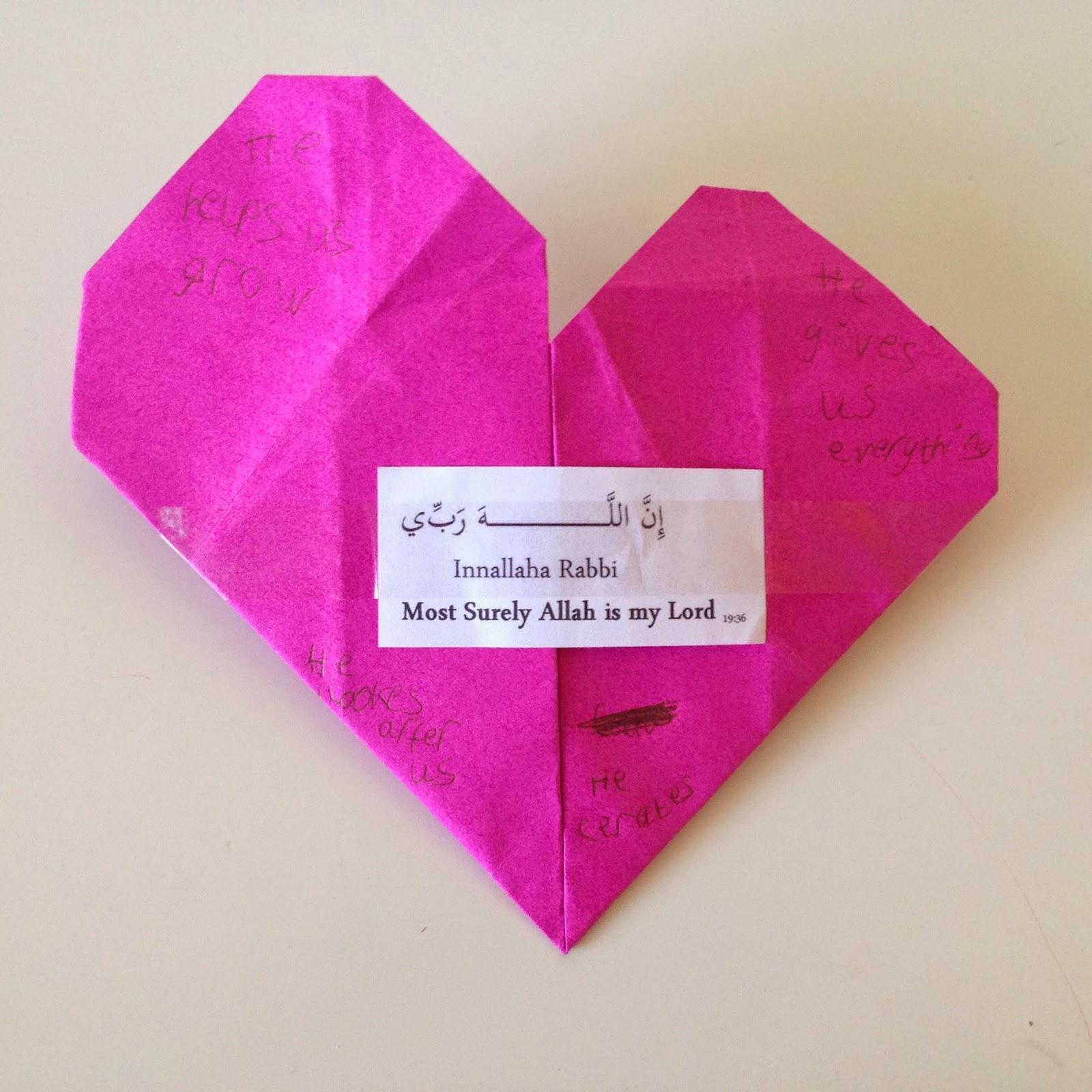 6 easy activities with Valentine's Origami hearts for preschoolers | 1600x1600